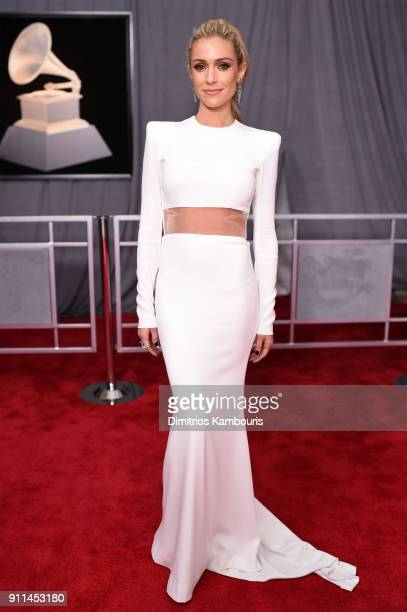 Television personality Kristin Cavallari attends the 60th Annual GRAMMY Awards at Madison Square Garden on January 28 2018 in New York City