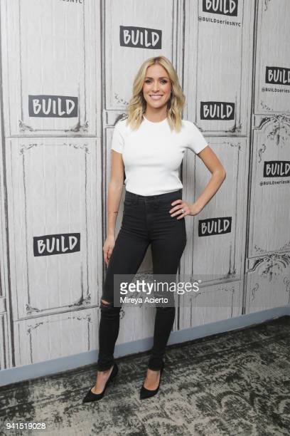 Television personality Kristin Cavallari visits BUILD to discuss her cook book True Roots A Mindful Kitchen with More Than 100 Recipes Free of Gluten...