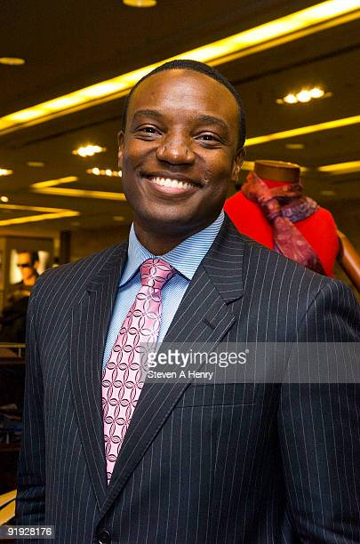Television personality Kwame Jackson attends Macy's GQ Magazine's Men's Night at Macy's Herald Square on October 15 2009 in New York City