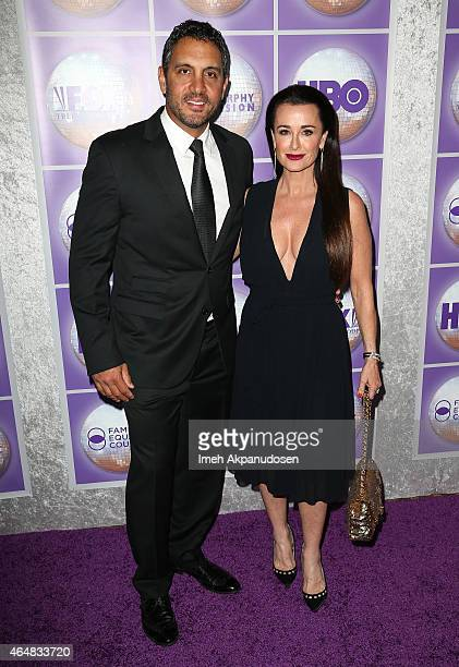 Television personality Kyle Richards and Mauricio Umansky attend the Family Equality Council's Los Angeles Awards Dinner at The Beverly Hilton Hotel...