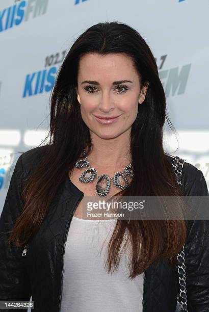 Television Personality Kyle Richards arrives at 1027 KIIS FM's Wango Tango at The Home Depot Center on May 12 2012 in Carson California