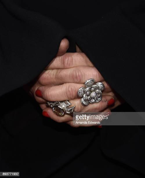 Television personality Kyle Richards ring detail arrives at Bravo's The Real Housewives Of Beverly Hills Season 8 Premiere Party at Doheny Room on...