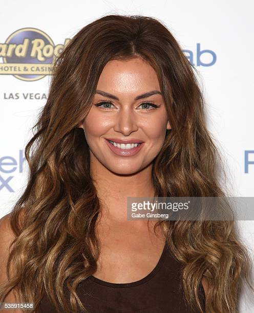 Television personality Lala Kent from 'Vanderpump Rules' arrives at the Hard Rock Hotel Casino's Rehab pool party on May 30 2016 in Las Vegas Nevada