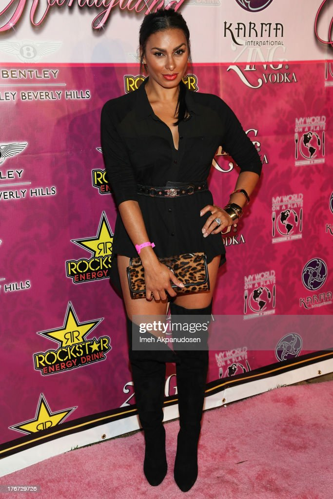 Television personality Laura Govan attends the 8th Annual Kandyland - An Evening Of Decadent Dreams on August 17, 2013 in Beverly Hills, California.