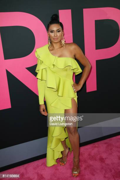 Television personality Laura Govan attends the premiere of Universal Pictures' Girls Trip at Regal LA Live Stadium 14 on July 13 2017 in Los Angeles...