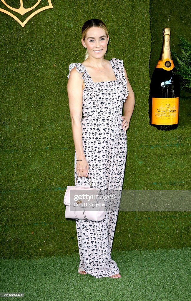 Television personality Lauren Conrad attends the 8th Annual Veuve Clicquot Polo Classic at Will Rogers State Historic Park on October 14, 2017 in Pacific Palisades, California.
