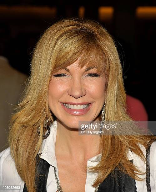 Television personality Leeza Gibbons attends the Magic Johnson Foundation AllStar weekend private shopping event at Nordstrom at Nordstrom at the...