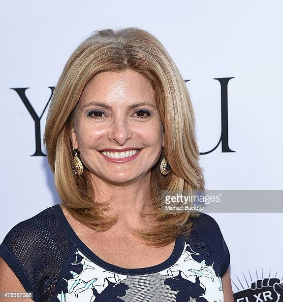 Television personality Lisa Bloom attends the world premiere of 'UNITY' at the DGA Theater on June 24 2015 in Los Angeles California