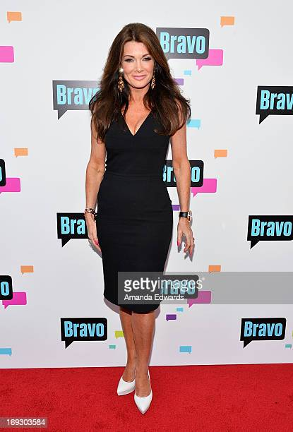 Television personality Lisa Vanderpump arrives at the Bravo Media's 2013 For Your Consideration Emmy Event at the Leonard H Goldenson Theatre on May...