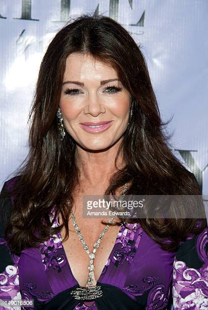 Television personality Lisa Vanderpump arrives at the grand opening of Kyle Richards' new boutique 'Kyle By Alene Too' on July 21 2012 in Beverly...
