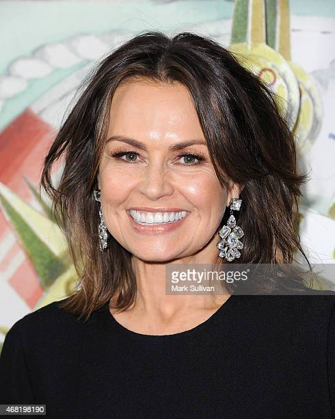 Television personality Lisa Wilkinson attends the Audi Hamilton Island Race Week launch at North Bondi Fish on March 31 2015 in Sydney Australia
