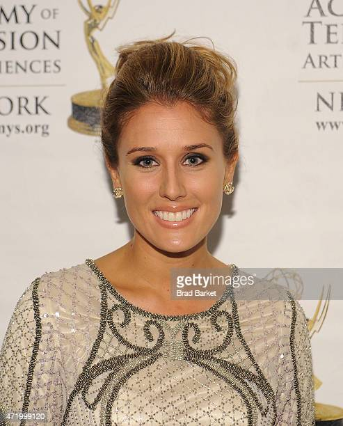 Television Personality Liz Dahlem attends the The 58th Annual New York Emmy Awards at Marriott Marquis Times Square on May 2 2015 in New York City