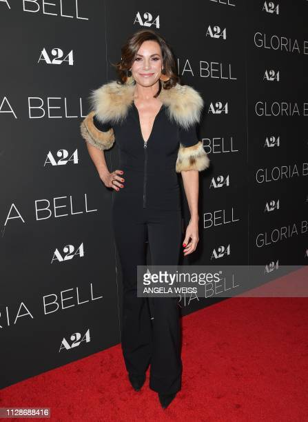 US television personality Luann de Lesseps attends the New York special screening of Gloria Bell at MoMa on March 4 2019 in New York City