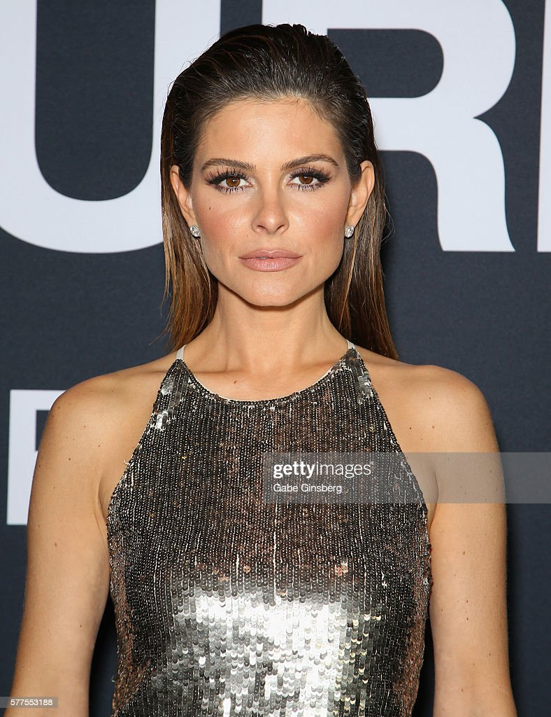 Television personality Maria Menounos attends the premiere of Universal Pictures' 'Jason Bourne' at The Colosseum at Caesars Palace on July 18, 2016 in Las Vegas, Nevada.