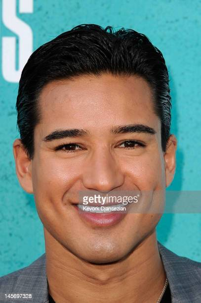 Television personality Mario Lopez arrives at the 2012 MTV Movie Awards at Gibson Amphitheatre on June 3 2012 in Universal City California