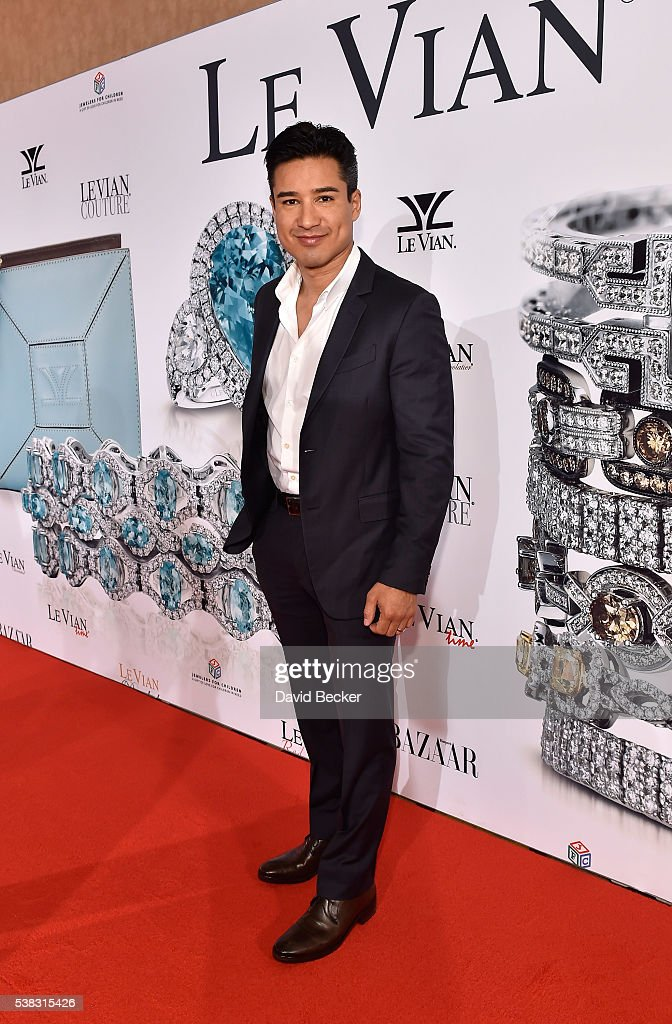 Television personality Mario Lopez attends the Le Vian 2017 Red Carpet Revue at the Mandalay Bay Convention Center on June 5, 2016 in Las Vegas, Nevada.