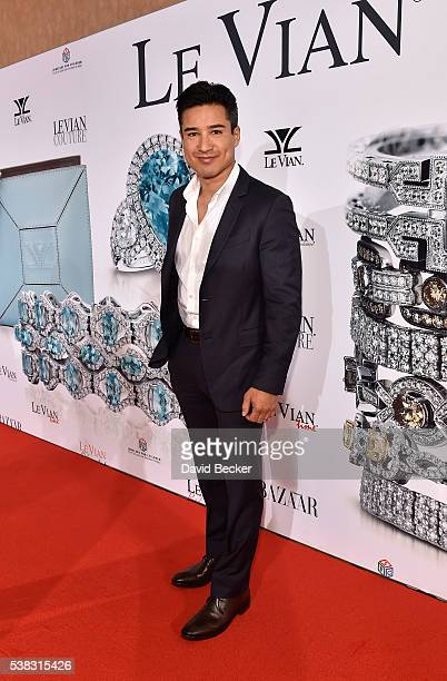 Television personality Mario Lopez attends the Le Vian 2017 Red Carpet Revue at the Mandalay Bay Convention Center on June 5 2016 in Las Vegas Nevada