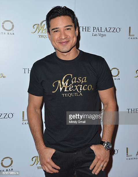 Television personality Mario Lopez hosts the Casa Mexico Tequila launch party at the Lavo Casino Club at The Palazzo Las Vegas on May 6 2016 in Las...