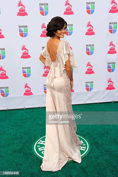 Television personality Marisol Gonzalez arrives at the 13th annual Latin GRAMMY Awards held at the Mandalay Bay Events Center on November 15 2012 in...