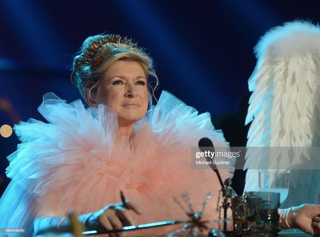 Television personality Martha Stewart attends Hub Network's First Annual Halloween Bash at Barker Hangar on October 20, 2013 in Santa Monica, California.