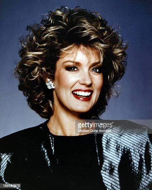 Television personality Mary Hart poses for a portrait in circa 1980