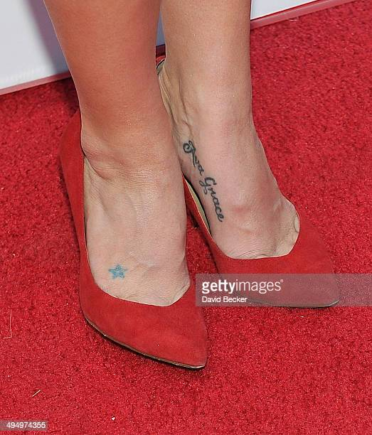 Television personality Melissa Rycroft arrives at the Simon G Soiree at the Four Seasons Hotel Las Vegas on May 31 2014 in Las Vegas Nevada