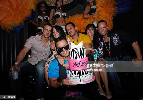 Television personality Mike 'The Situation' Sorrentino and Michael Sussman Melissa Sorrentino Marc Sorrentino Linda Sorrentino and Frank Sorrentino...