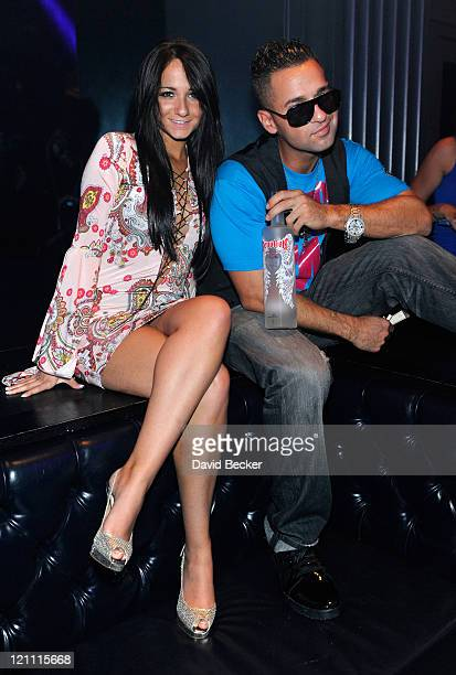 Television personality Mike 'The Situation' Sorrentino ans his sister Melissa Sorrentino attend the Chateau Nightclub Gardens at the Paris Las Vegas...
