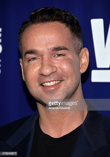 "Television personality Mike ""The Situation"" Sorrentino arrives at the WE tv's ""Marriage Bootcamp Reality Stars'"" Premiere Party at HYDE Sunset:..."