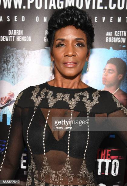 Television personality Momma Dee at The Products Of The American Ghetto Atlanta Screening at The Plaza Theatre on August 23 2017 in Atlanta Georgia