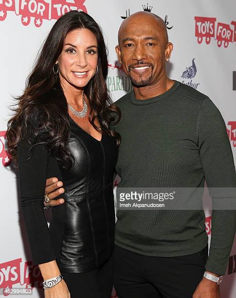 Television personality Montel Williams and his wife Tara Fowler attend The Hollywood Christmas Parade Benefiting Toys For Tots Foundation on December...