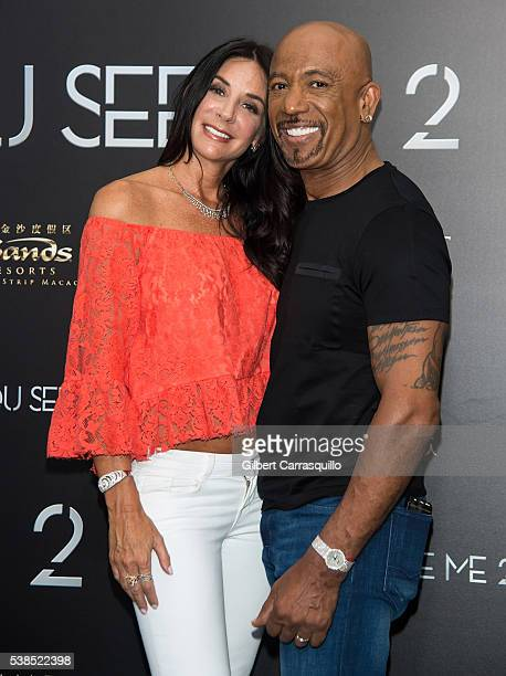 Television Personality Montel Williams and wife Tara Williams attend 'Now You See Me 2' World Premiere at AMC Loews Lincoln Square 13 theater on June...