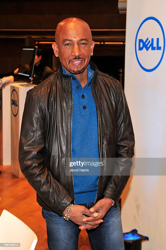Television personality Montel Williams attends Drink and Dine with Dell and #Inspire 100 Honorees at Sundance Film Festival on January 19, 2013 in Park City, Utah.