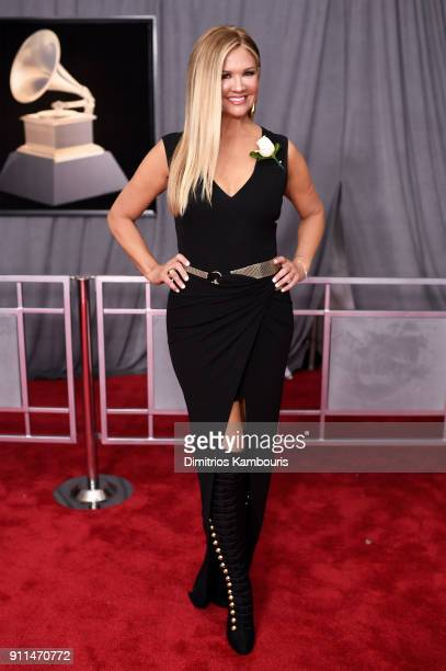 Television Personality Nancy O'Dell attends the 60th Annual GRAMMY Awards at Madison Square Garden on January 28 2018 in New York City