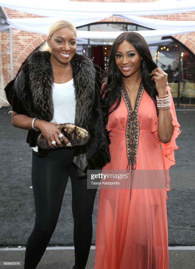 Television personality NeNe Leakes and model Cynthia Bailey attend the 30th Annual Leigh Steinberg Super Bowl Party on February 4, 2017 in Houston, Texas.