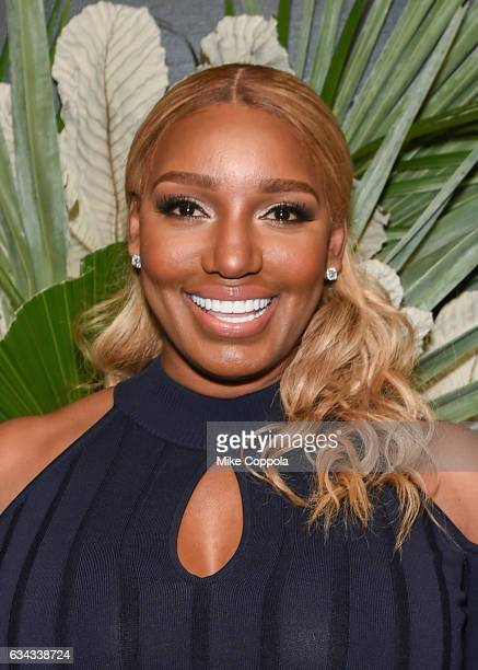 Television personality NeNe Leakes attends ELLE, E! And IMG Host New York Fashion Week February 2017 Kick-Off Event on February 8, 2017 in New York...
