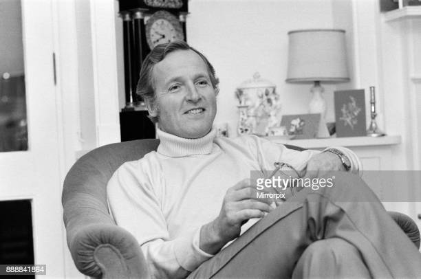 Television personality Nicholas Parsons pictured at his Hampstead Cottage 19th December 1978