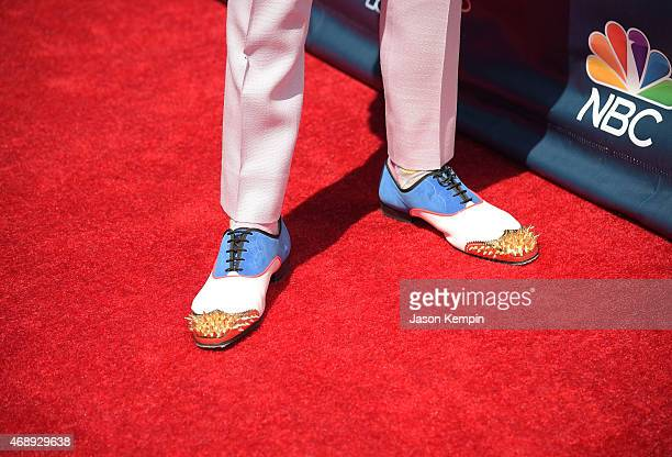Television personality Nick Cannon attends the 'America's Got Talent' Season 10 Red Carpet Event at Dolby Theatre on April 8 2015 in Hollywood...