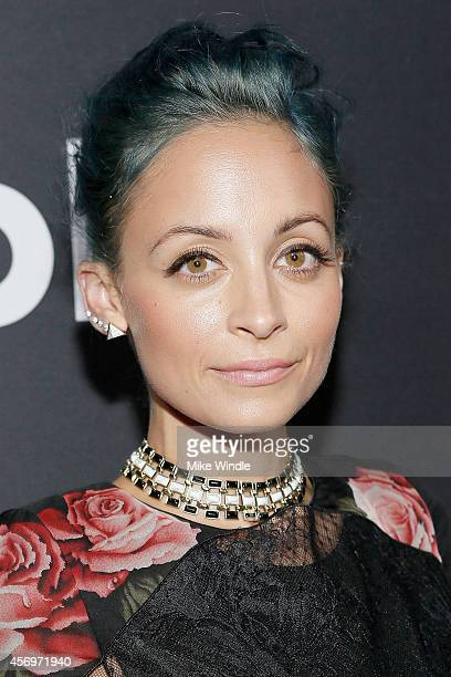 Television personality Nicole Richie attends the AOL Originals Fall Premiere Event at Palihouse Holloway on October 9 2014 in West Hollywood...