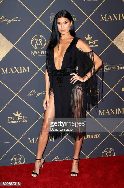 Television personality Nicole Williams attends The 2017 MAXIM Hot 100 Party produced by Karma International at The Hollywood Palladium in celebration...