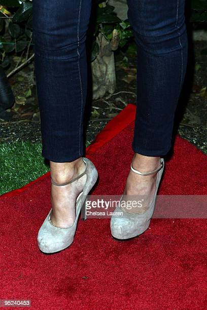 Television personality Olivia Munn arrives at the 2009 Complex Premium Goods Event at MyHouse Nightclub on December 9 2009 in Hollywood California