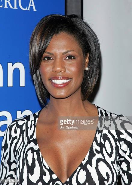 "Television personality Omarosa Manigault-Stallworth attends the ""African Legends Past and Future"" book presentation at The Javits Center May 30, 2009..."