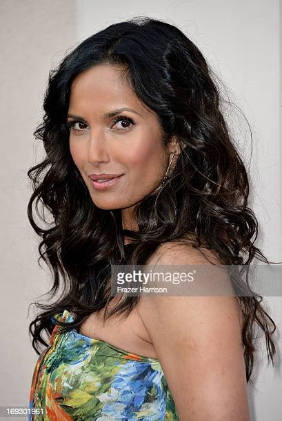 Television Personality Padma Lakshmi arrives at Bravo Media's 2013 'For Your Consideration' Emmy Event at Leonard H Goldenson Theatre on May 22 2013...