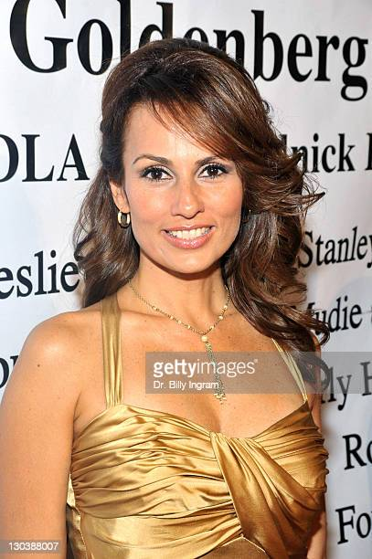 Television personality Patricia Kara arrives at the 10th Annual Children Uniting Nations Academy Awards Gala at The Beverly Hilton Hotel on February...