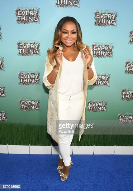Television personality Phaedra Parks attends Everything Everything Screening and Brunch at W Hotel Atlanta Midtown on April 23 2017 in Atlanta Georgia
