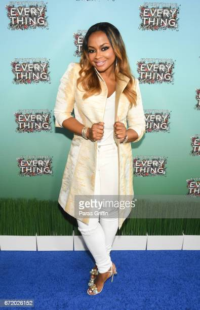 Television personality Phaedra Parks attends 'Everything Everything' Screening and Brunch at W Hotel Atlanta Midtown on April 23 2017 in Atlanta...