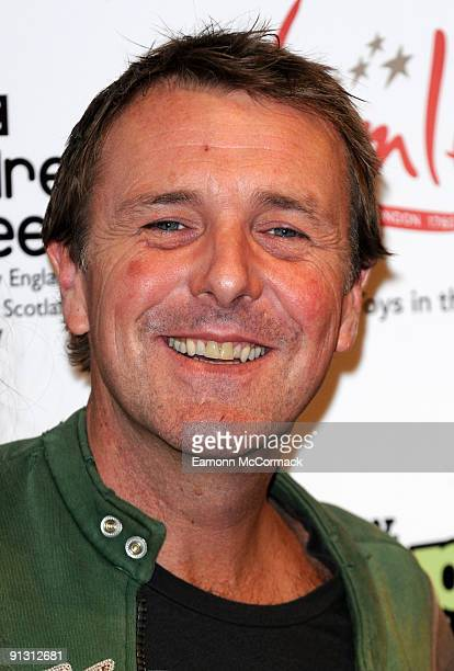 Television personality Phil Tufnell attends the launch of iPod skins by Wrappz in aid of Children In Need at Hamleys on October 1 2009 in London...