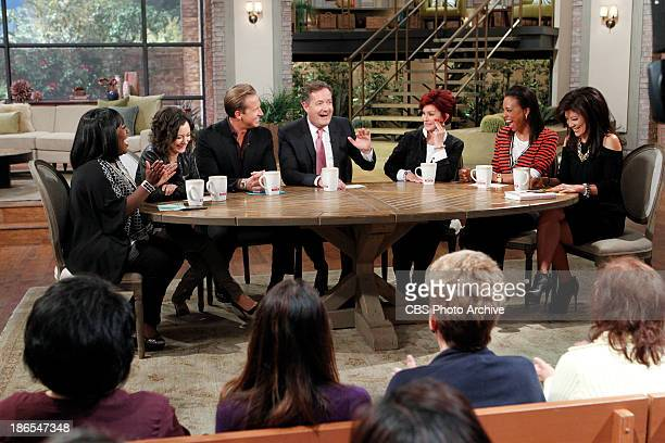 Television personality Piers Morgan joins the hosts at the table as a Top Talker to dish on the latest trending topics, Thursday, October 24, 2013 on...