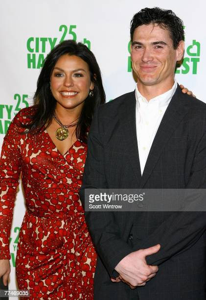 Television personality Rachael Ray and actor Billy Crudup attend City Harvest's bid against hunger at the Metropolitan Pavilion on October 23, 2007...