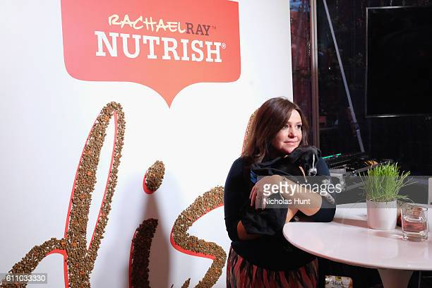 Television Personality Rachael Ray attends as Rachael Ray Celebrates the Launch of her Nutrish DISH with a Puppy Party on September 28, 2016 in New...